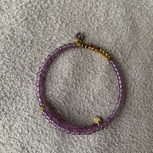 KEEP Collective Jewelry - Lavender inspirational bracelet